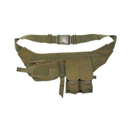 Mochila Tactica Militar MilTec US Assault SM 20 Litros Mandra Tan