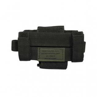 Mochila Tactica Militar MilTec US Assault LG 36 Litros Woodland con Velcro Frontal
