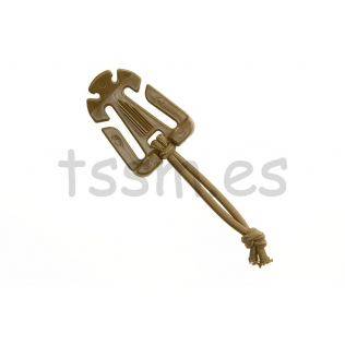 Mochila Tactica Militar Helikon-Tex Bail Out Bag 25 Litros Coyote