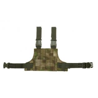 Mascara Táctica Warrior Steel Half Pirate Arms Verde OD