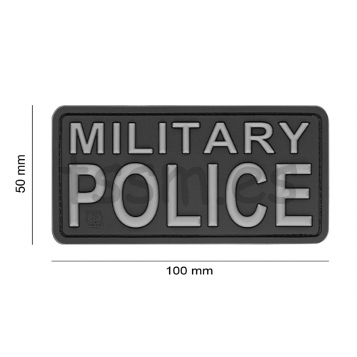 Parche de Goma 3D Black Sheep Rubber Multicam JTG